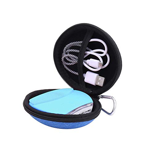 Hard Carrying Case for FOREO LUNA MINI 2 Facial Cleansing Brush by Aenllosi (FOREO LUNA MINI 2, blue)