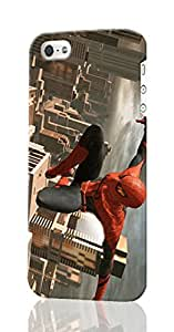 The Amazing Spider-Man Pattern Image - Protective 3d Rough Case Cover - Hard Plastic 3D Case - For iPhone 6 plus 5.5