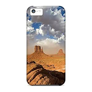 Special Mycase88 Skin Cases Covers For Iphone 5c, Popular The Mystic Desert Phone Cases