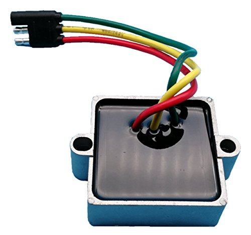 Tuzliufi Replace Voltage Regulator Rectifier Polaris Snowmobile Classic Trail Touring Widetrak Lx XC SP Edge Supersport RMK Rush IQ Lxt Switchback Shift 136 SKS Carb EFI 340 500 550 600 700 800 Z46 ()