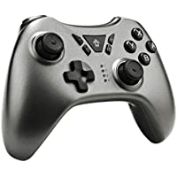 QUMOX Wireless Gamepad Compatible for Switch PS3 PC Android TV Box Bluetooth