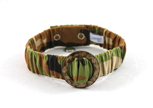 Schmoozies Camouflage Aromatherapy Pet Collar, Large