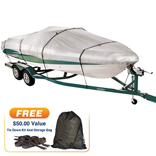 Covermate Imperial 300 Euro-Style V-Hull I/O Boat Cover, 22'5