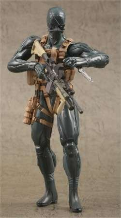 Metal Gear Solid Medicom 7 Inch Action Figure Soild Snake [Otocamo Facemask Version] [MGS4]