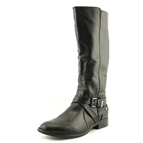 LifeStride Women's Racey Riding Boot,Black,6.5 W US