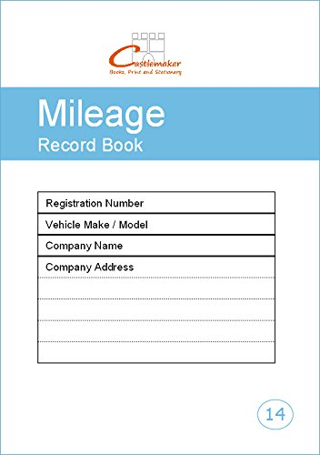 mileage record book a5 m014 fuel log amazon co uk office products