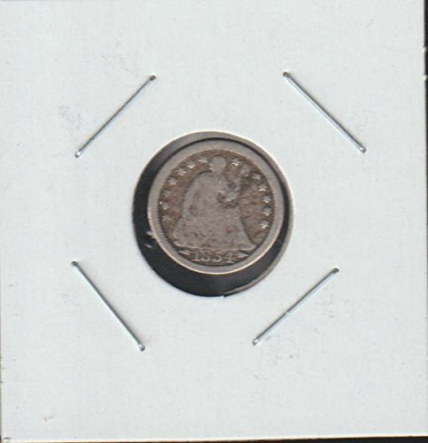 1854 Liberty Seated (1837-1873) Half Dime Very Good