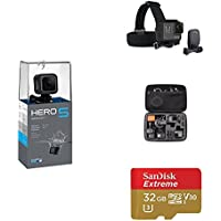 GoPro HERO5 Session w/ Head Strap, Carrying Case and Memory Card