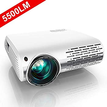 Amazon.com: Gzunelic 5500 lumens Android WiFi 1080p Video ...