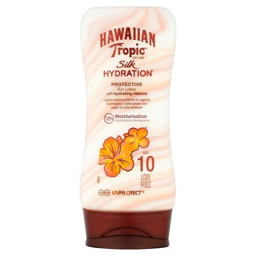Hawaiian Tropic Silk Hydration Lotion with SPF 10, 180ml by Hawaiian Tropic (Hawaiian Tropic No Spf)