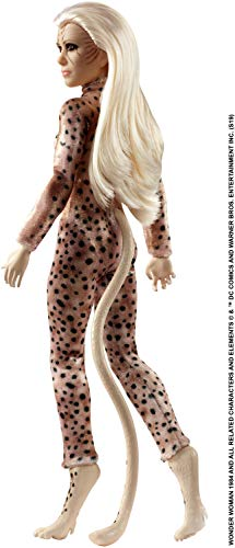 Mattel Wonder Woman 1984 Cheetah Doll ~11.5-inch Wearing Fashion and Accessories, for 6 Year Olds and Up