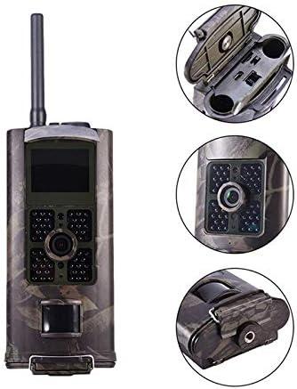 Nrpfell Hc-700G C/ámara de Caza Sistema de Seguimiento de Vigilancia Salvaje C/ámara 3G MMS SMS 16Mp C/ámara de Rastro Video Scouting Trampa Fotogr/áfica