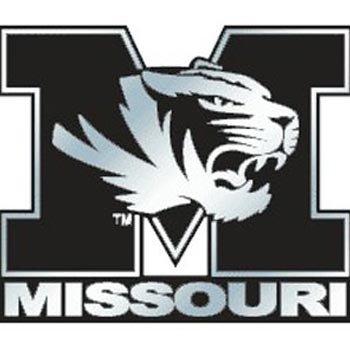 NCAA Missouri Tigers Chrome Automobile Emblem