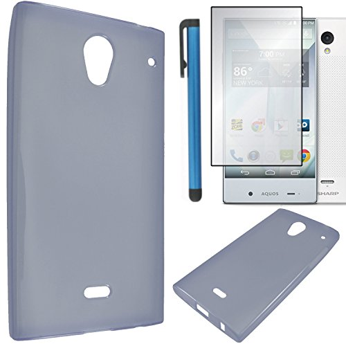 sharp aquos crystal gel case - 4