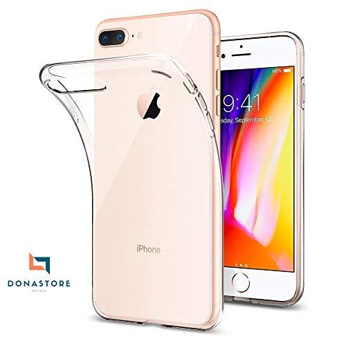 iPhone 7 Plus case/iPhone 8 Plus case Ultra Clear 4.7Inch,Hybrid TPU PC Shock-Absorption Anti-Scratch Bumper Hard Back Cover (HD Crystal Clear) Case Compatible for Apple iPhone 7 Plus iPhone 8 Plus