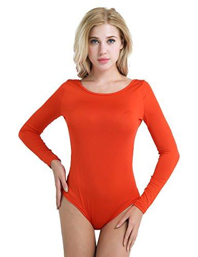 Freebily Damen Body Orange