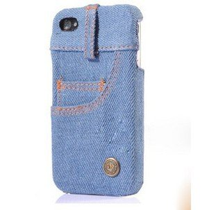aafc0e1ac8c129 Amazon.com  Real Jeans Denim Cloth design Hard Back Case Cover for ...