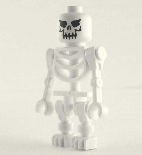 LEGO Loose Minifigure Evil Skeleton Straight Arms