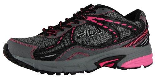 Fila Women's Overstitch 6 (Trail Running) (8.5, Castlerock Black Pink) Review