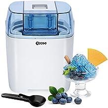 Ice Cream Maker Machine Frozen Yogurt Sorbet Gelato Machine,1.5L Freezer Bowl,LCD Countdown-Timer,20-40 Mins Making Time