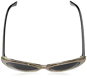 A.J. Morgan Women's Maria Cateye Sunglasses, Glitter Pearl, 55 mm