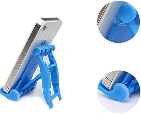 Dosige 1/Pcs Accessoires de t/él/éphone Portable Support Mobile sur la Table Support pour iPad tablettes iPhone 7//6/plus//6s//6//se et Android Smartphone Couleurs al/éatoires