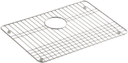 for Ballad Utility Sink and Select Undertone and Iron/Tones Kitchen Sinks, Stainless Steel (Undertone Bottom Basin Rack)