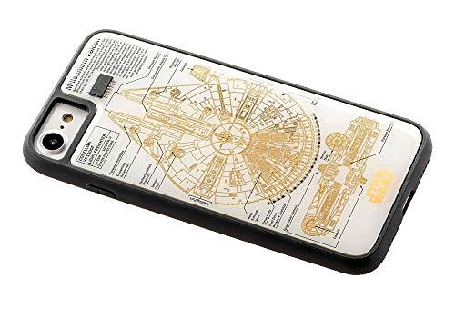 スター・ウォーズ FLASH M-FALCON 基板アート iPhone7/8ケース 白の商品画像