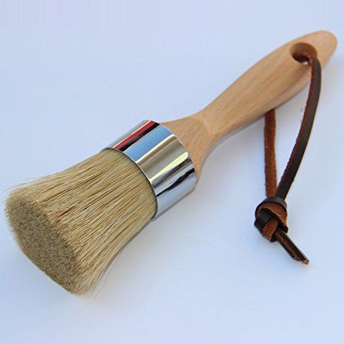 Cooptop Round Chalk Paint Brush