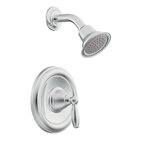 Moen T62152EP-2510 Brantford Posi-Temp Tub and Shower Trim Kit with Lever Handle and Valve, Chrome by Moen