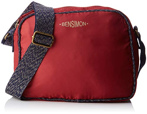 Cross Bordeaux Small Bag Besace Bensimon Red Women's Body wxfRnq46