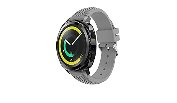 Amazon.com: Jewh Watch Band for Samsung Fashion Sport Soft Silicone Replacement Wristband - Wrist Strap for Samsung Gear Sport - Creative Design Watch Band ...