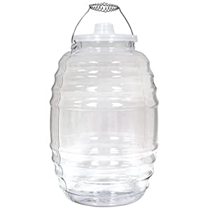 Royal Cook VBP5 Vitrolero Plastic Water Container, 5 gallon, Clear