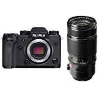 Fujifilm X-H1 Mirrorless Camera Body, Black - With XF 50-140mm (76-213mm) F2.8 R LM OIS WR (Weather Resistant) Lens