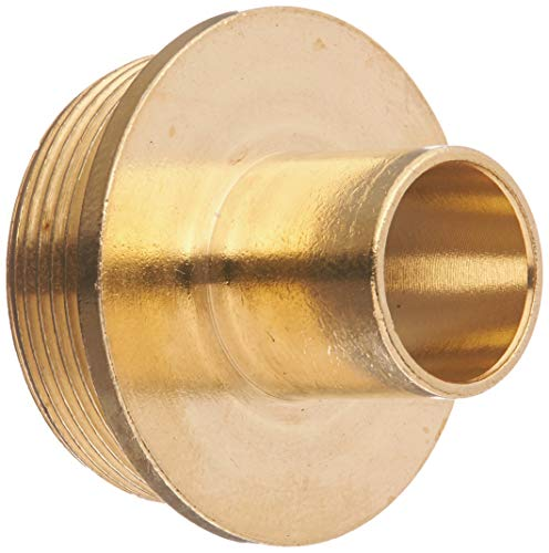 POWERTEC 71222 Router Template Guide Bushing FOR Porter Cable Style Routers | Solid Brass Component | 5/8