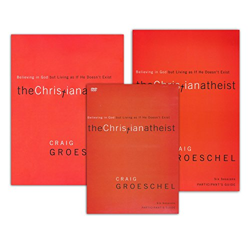 FULL SET - Craig Groeschel - The Christian Atheist: Believing in God but Living as if He Doesn't Exist (Book + Study Guide + DVD) Zondervan 2010