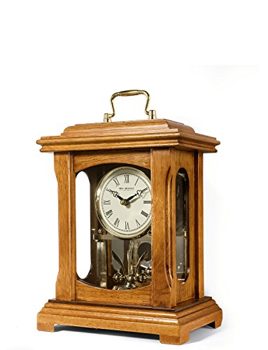 Lantern Mantle Clock - Wm. Widdop Lantern Mantle Clock Brown One Size