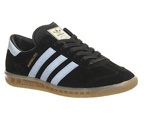 adidas Originals Hamburg Hommes Baskets Noir S74833 Schwarz