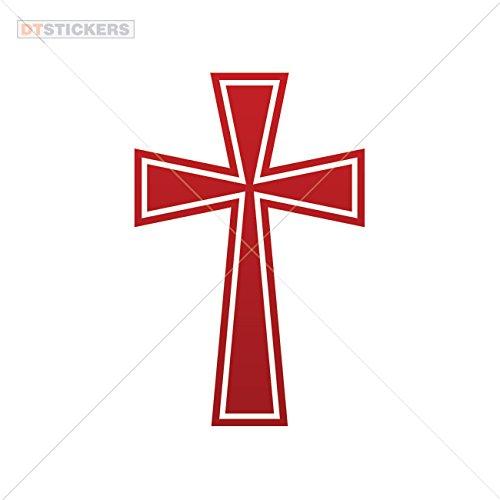 Decal Stickers Christian Cross Symbol Motorbike Boat Pharmacy Snake