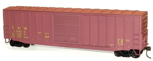 Accurail 5646 HO KIT 50' Exterior Post Box, CGW (Accurail Ho 50' Exterior Post)