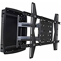 Monoprice 110223 Recessed Adjustable Tilting/Swiveling Wall Mount Bracket for LCD/LED/Plasma TV
