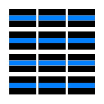 Thin Blue Line Sheet 12