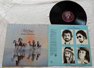 Bob Against The Seger Wind (Bob Seger & The Silver Bullet Band LP Against The Wind - Capitol Records 1980 - Near Mint Vinyl! - The Eagles , Dr. John , Muscle Shoals Rhythm Section)