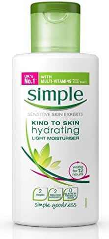 Facial Moisturizer: Simple Hydrating Light Moisturizer
