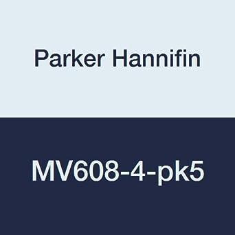 1//4 Male Thread x 1//4Female Thread 1//4 Male Thread x 1//4Female Thread Parker Hannifin Corporation Parker Hannifin MV608-4 Mini Series Brass Ball Valve Compact Handle