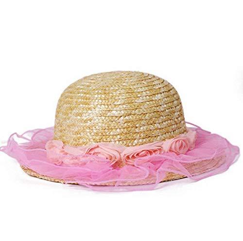 Tamaño Un De M Summer 6pc Libre Al F Tamaño Fuxitoggo Straw color Playa Viaje Sombrero Hat Aire Lady Sunscreen aZqS0wB