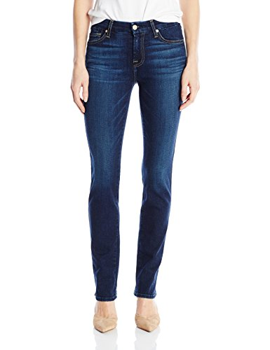 7 For All Mankind Women's Straght Leg Jean, Santiago Canyon, 29
