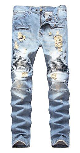 Biker Pants For Men - 1