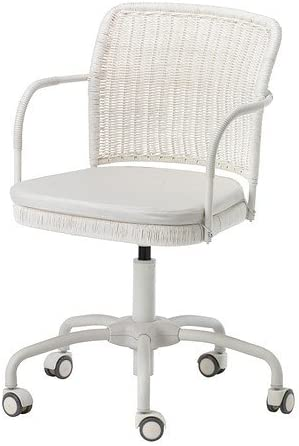 Ikea Gregor Swivel Chair White Vitt Aryd Blekinge White 300 M Amazon Co Uk Kitchen Home