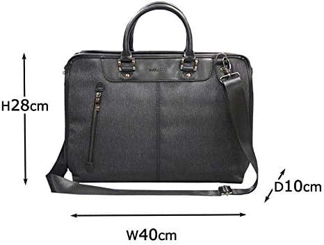 HAMILTON ビジネスバッグ メンズ h-702 タブレットポケット キャリーオン B4サイズ対応 多機能ビジネス ショルダー付き ビジカジ
